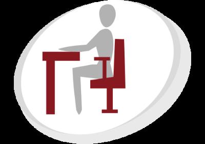 Ergonomie Arbeitsplatz Physiotherapie Henrich